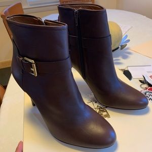 Coach Booties NWT/box included